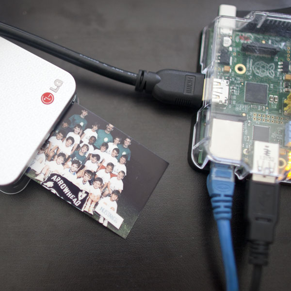 Wireless Photo Printing from Raspberry Pi